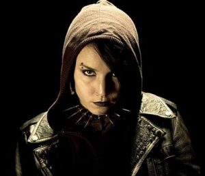 Girl with the Dragon Tattoo: In a sci-fi film, you're only allowed to look like this if you're a hacker.