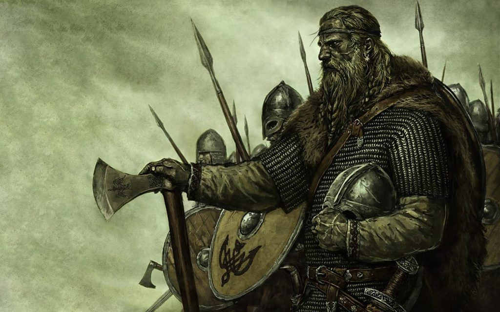 Viking Art from the video game Mount & Blade
