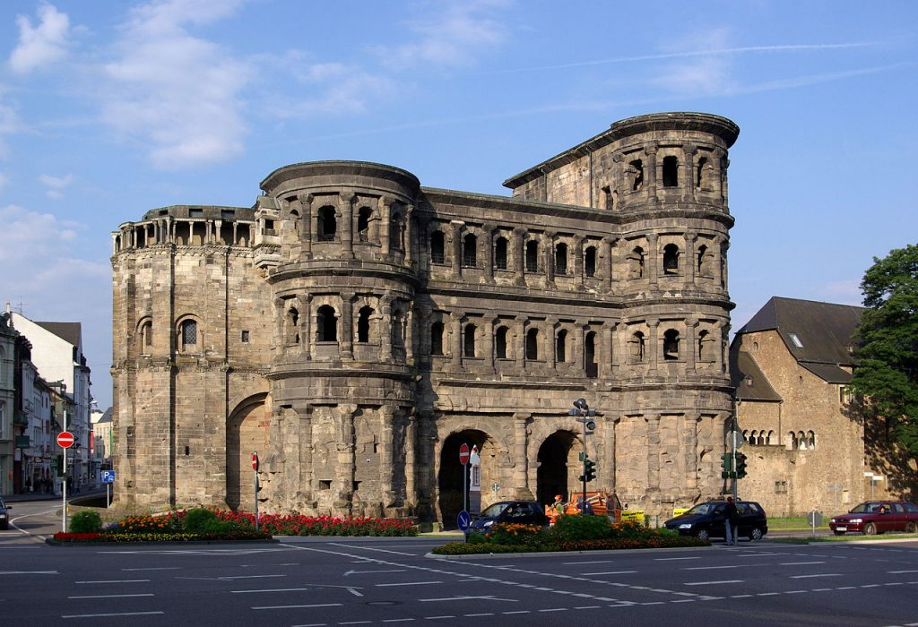 The Porta Nigra in Trier, Germany