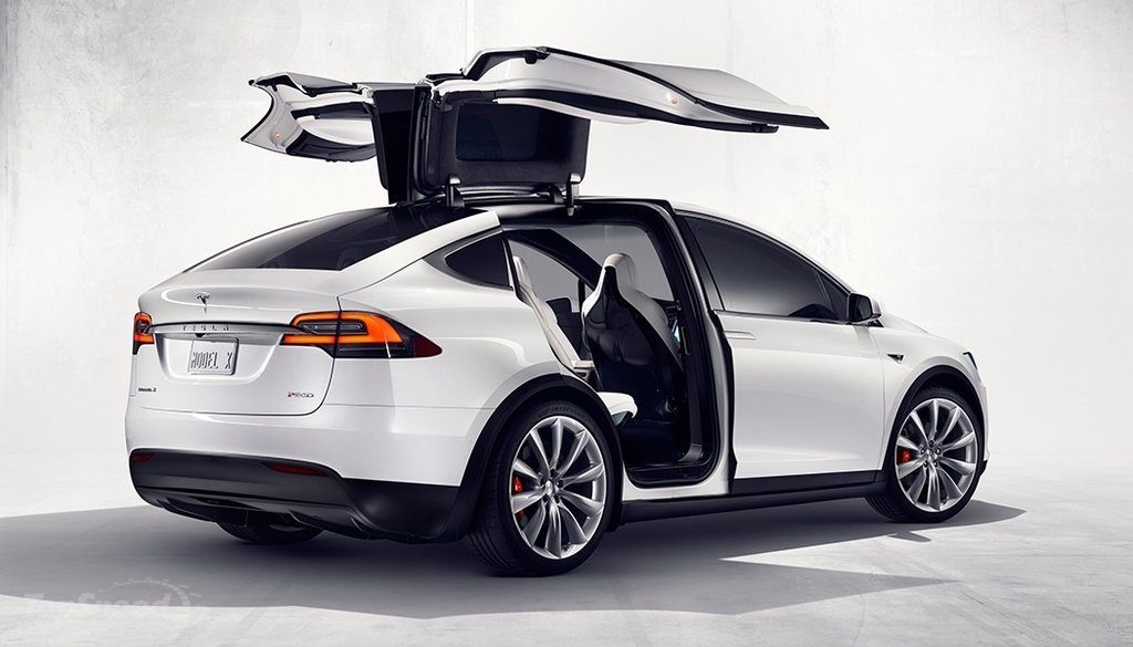 Tesla Model X, we've only seen 3 in Arizona as of June 2016, but it's no surprise as they were backordered for over a year.
